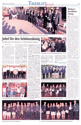 Schuetzenfest 2010 Duderstadt